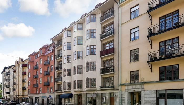 Renovera fasad Stockholm